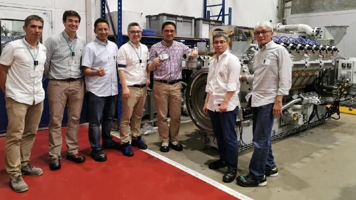 Pembangkit Listrik Biogas Sei Mangkei Lolos Engine Test