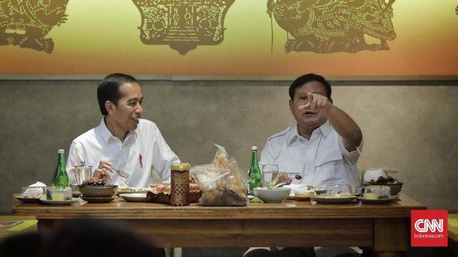Prabowo Umumkan Rencana Bertemu Jokowi ke Koalisi Sejak Juni