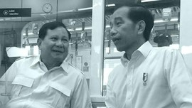 Adem... Jokowi-Prabowo Akhirnya Bertemu!