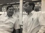 Amboi! Saling Serang Saat Pilpres, Jokowi-Prabowo Kini Mesra
