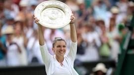 Kalahkan Serena, Halep Juara Wimbledon 2019