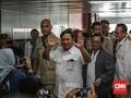 Dijadwalkan Bertemu Jokowi, Prabowo Datang ke MRT Lebak Bulus