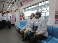 Terungkap! Kenapa MRT Jadi Lokasi Pertemuan Jokowi & Prabowo