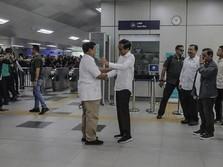Simak Nih! Pernyataan Lengkap Prabowo Saat Bertemu Jokowi