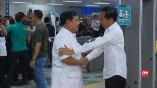 Menhub Bongkar Alasan MRT Jadi Lokasi Bertemu Jokowi-Prabowo
