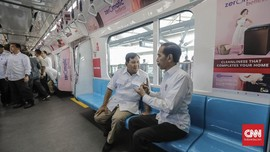MRT, Saksi Bisu Rekonsiliasi Prabowo-Jokowi