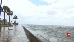 VIDEO: Badai Terjang Louisiana, Warga Hadapi Potensi Banjir