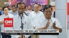VIDEO: Jokowi-Prabowo: Tak Ada Lagi Cebong Kampret