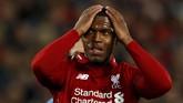 Daniel Sturridge diklaim Express berpeluang pindah ke Bologna setelah namanya tak masuk rencana skuat Liverpool musim depan. (Reuters/Jason Cairnduff)