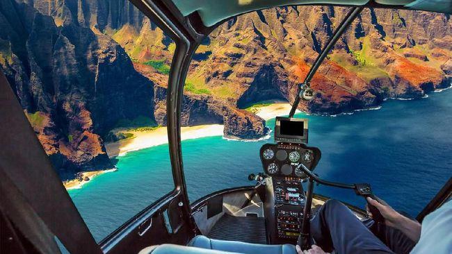 Helikopter yang Jatuh di Lombok Bertarif Puluhan Juta Rupiah