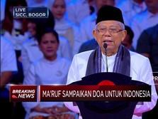 Ma'ruf Amin Bicara Soal Economy Unity