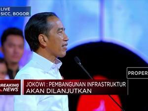 Jokowi: Pembangunan Infrastruktur Akan Dilanjutkan!