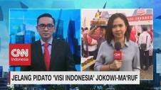 VIDEO: Jelang Pidato 'Visi Indonesia' Jokowi-Ma'ruf