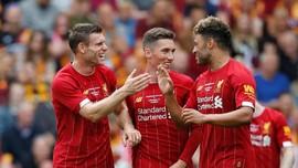 Liverpool Kalahkan Bradford 3-1, Milner Cetak Dua Gol