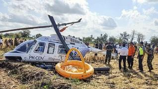 Helikopter Jatuh di Lombok, 3 WNA Luka