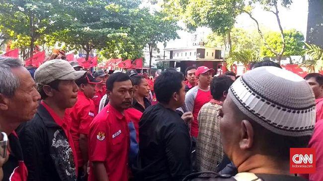 Disebut Ada Penyusup, Konsolidasi PDIP Surabaya Sempat Ricuh