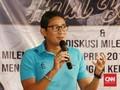 Sandiaga: Kalau Prabowo Baper Tak Datang ke Kongres