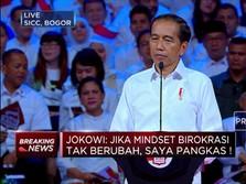 Jokowi: Saya  Butuh Menteri yang Berani!