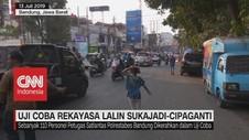 VIDEO: Uji Coba Rekayasa Lalin Sukajadi-Cipaganti