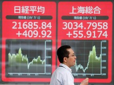AS-China Damai, Bursa Saham Asia Malah Ditutup Memerah