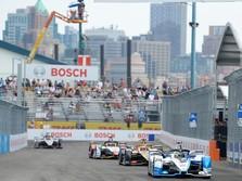 Akan ke Jakarta 2020, Ini Penampakan Formula E di AS
