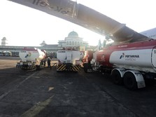 Pak Jokowi, RI Sebenarnya Sudah tak Impor Avtur Lagi Lho...