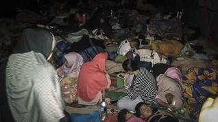 FOTO: Nasib Warga Maluku Utara Usai Diguncang Gempa