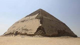 Piramida 'Bengkok' di Mesir Dibuka untuk Umum