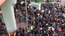 VIDEO: Demo RUU Ekstradisi Hong Kong Meluas ke Dekat China