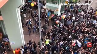 VIDEO: Demo RUU Ekstradisi Hong Kong Meluas ke Dekat China