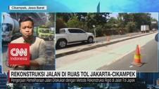 VIDEO: Rekonstruksi Jalan di Ruas Tol Jakarta-Cikampek