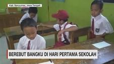 VIDEO: Berebut Bangku di Hari Pertama Sekolah