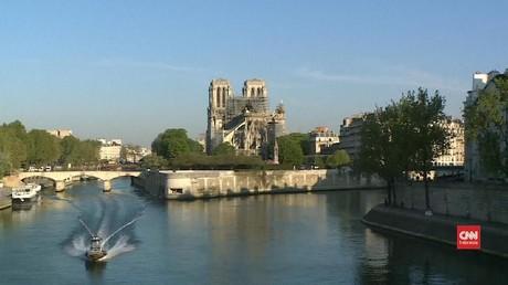 VIDEO: Restorasi Notre Dame Selesai Pada Musim Gugur