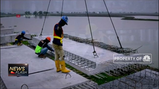 WSBP IHSG Bursa Ambles, Harga Saham WSBP Cetak Rekor Terendah Sejak IPO