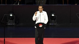 Angin Lalu Poros Maritim di Pidato Jokowi