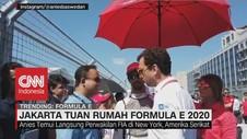 VIDEO: Jakarta Tuan Rumah Formula E 2020