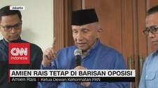 VIDEO: Amin Rais Tetap di Barisan Oposisi