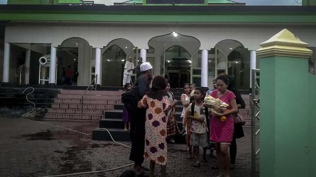 Kepala Pusat Gempa Bumi dan Tsunami Badan Meteorologi, Klimatologi, dan Geofisika (BMKG) Rahmat Triyono mengatakan gempa yang mengguncang Kabupaten Halmahera Selatan, Maluku Utara akibat pergeseran Sesar Sorong-Bacan. ANTARA FOTO/BNPB/pd.