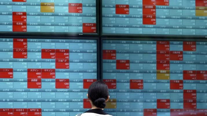 AS-China Panas Karena Hong Kong, Bursa Asia Berguguran