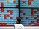 Bursa Jepang Pagi Ini Bertengger di Zona Merah