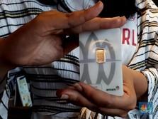 AS-China Mesra Lagi, Bikin Harga Emas Antam 'Mager'