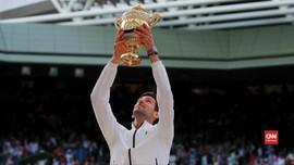 VIDEO: Hampir Lima Jam, Djokovic Raih Gelar Wimbledon