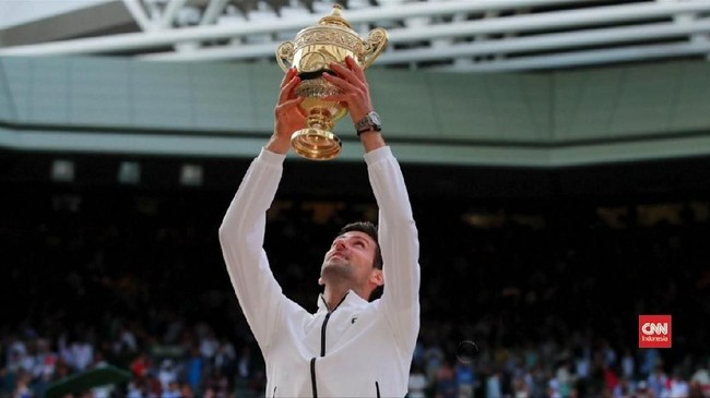 VIDEO: Hampir Lima Jam, Djokovic Raih Gelar Wimbledon