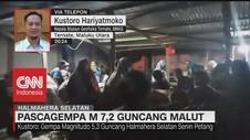 VIDEO: Pascagempa M 7,2 Guncang Malut