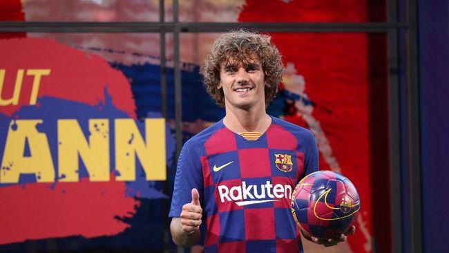 Griezmann Tak Pakai Nomor Favorit di Barcelona