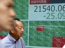 Hawa Resesi Kian Terasa, Bursa Saham Asia Berguguran