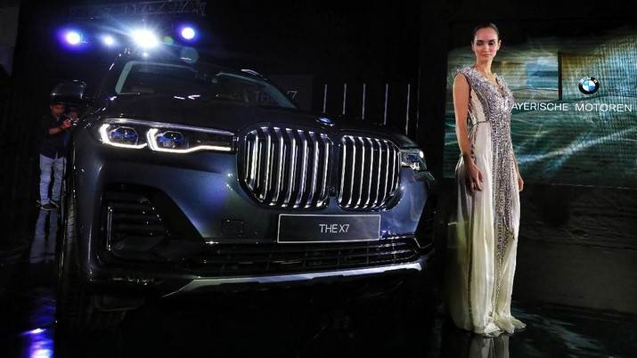 Top! Nih Penampakan Mobil Presiden BMW X7