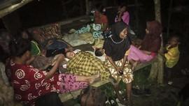 Korban Gempa Halmahera Selatan Masih Takut Pulang ke Rumah