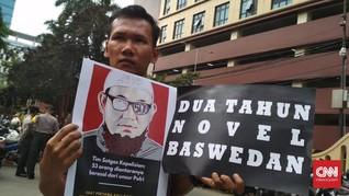 Aksi 'Polisi Tidur', LSM Pesimistis pada Polri di Kasus Novel