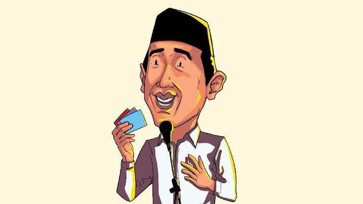 Jokowi akan memulai program Kartu Pra Kerja pada Januari 2020. Dalam program ini para pengangguran mendapat pelatihan dan gaji dari pemerintah selama 3 bulan.